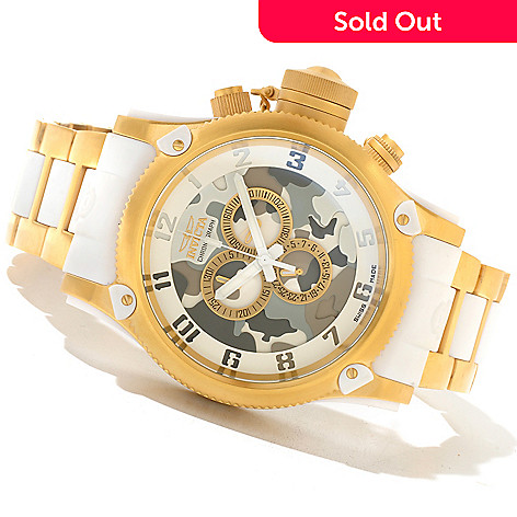 621-385 - Invicta Men's Russian Diver Swiss Made Quartz Chronograph Bracelet Watch