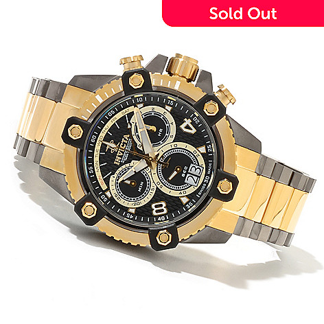 621-398 - Invicta Reserve 48mm Octane Swiss Made Quartz Chronograph Bracelet Watch
