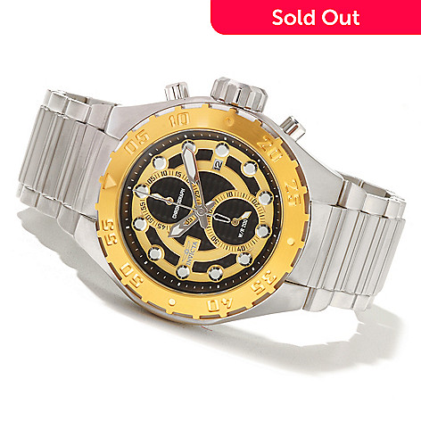 621-401 - Invicta Men's Pro Diver Touring Quartz Chronograph Stainless Steel Bracelet Watch