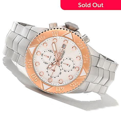 621-403 - Invicta Men's Pro Diver Galaxy Quartz Chronograph Stainless Steel Bracelet Watch