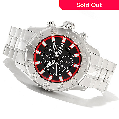 621-405 - Invicta Men's Pro Diver XL Quartz Chronograph Stainless Steel Bracelet Watch