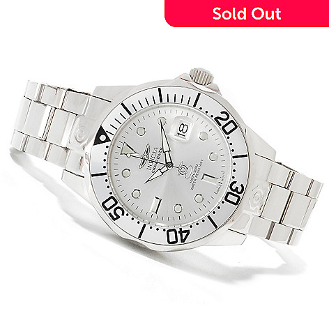 621-423 - Invicta 47mm Grand Diver Automatic Stainless Steel Bracelet Watch