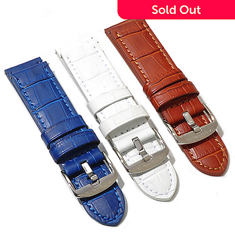 621-525 - Android Set of Three 24mm Leather Straps