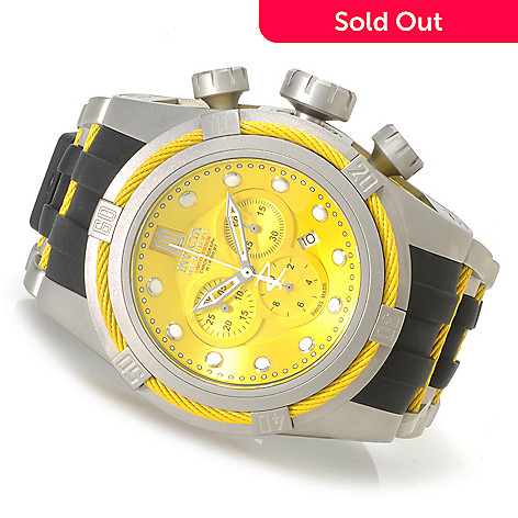 621-540 - Invicta Reserve 52mm Jason Taylor Bolt Zeus Limited Edition Strap Watch w/ Three-Slot Dive Case