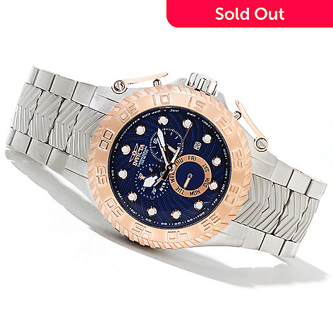 621-646 - Invicta Men's Pro Diver Razor Quartz Chronograph Stainless Steel Bracelet Watch