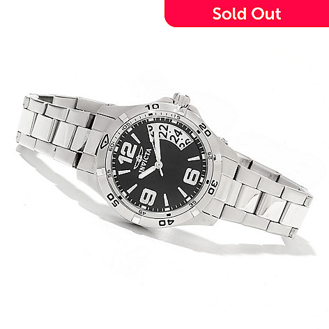 621-657 - Invicta Women's Specialty Quartz Stainless Steel Bracelet Watch w/ Travel Box