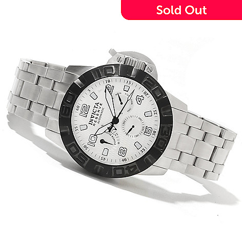 621-689 - Invicta Reserve Men's Ocean Predator Limited Edition Automatic Stainless Steel Bracelet Watch