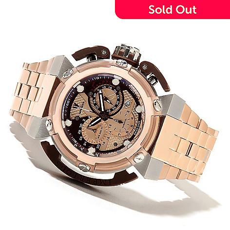 621-691 - Imperious Men's X-Wing Swiss Made Quartz Chronograph Stainless Steel Bracelet Watch