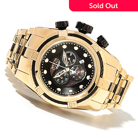 621-727 - Invicta Reserve Bolt Zeus Swiss Made Quartz Chronograph Stainless Steel Bracelet Watch