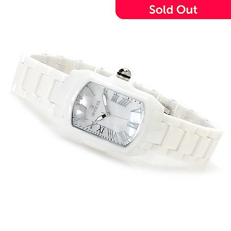 621-733 - Invicta Ceramics Women's Baby Lupah Quartz Mother-of-Pearl Bracelet Watch