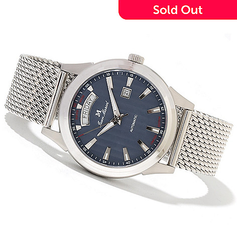 621-741 - Jean Marcel Men's Astrum Limited Edition Swiss Made Automatic Stainless Steel Bracelet Watch