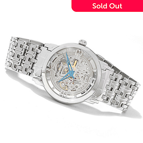 621-775 - Stührling Original Men's Winchester Reserve Automatic Skeletonized Bracelet Watch