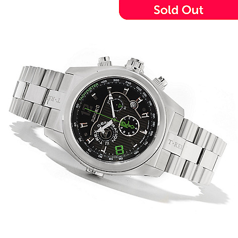 621-798 - Renato Men's T-Rex Gen III Swiss Chronograph Stainless Steel Bracelet Watch