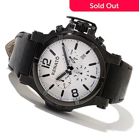 621-805 - Renato Men's T-Rex Gen II Aviator Swiss Quartz Chronograph Strap Watch