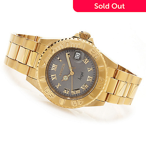 621-814 - Invicta Women's Angel Quartz Stainless Steel Bracelet Watch