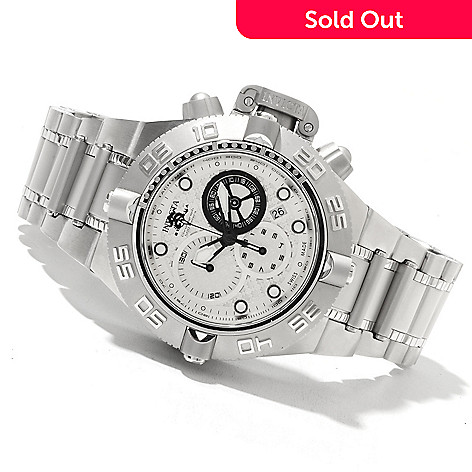 621-819 - Invicta Men's Subaqua Noma IV Swiss Quartz Chronograph Stainless Steel Bracelet Watch