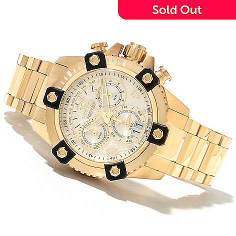 622-021 - Invicta Reserve 48mm Octane Swiss Quartz Chronograph Stainless Steel Bracelet Watch