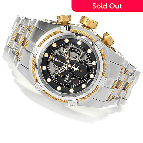622-035 - Invicta Reserve 52mm Bolt Zeus Swiss Dubois Depraz Automatic Bracelet Watch