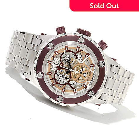 622-036 - Invicta Reserve 52mm Specialty Subaqua COSC Swiss Made Quartz Chronograph Bracelet Watch