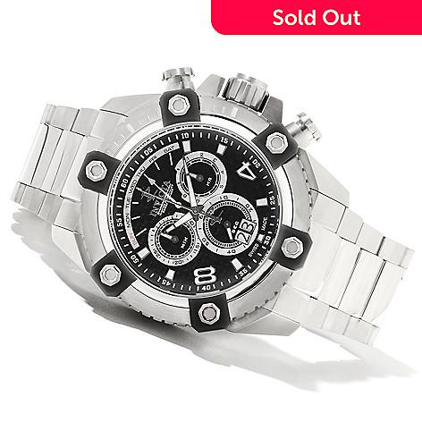 622-043 - Invicta Reserve 63mm Grand Octane Swiss Made Quartz Chronograph Bracelet Watch