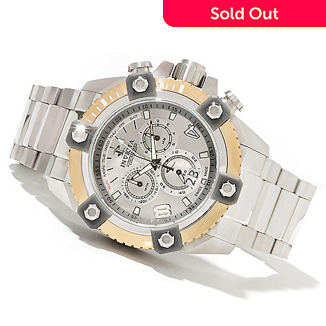 622-044 - Invicta Reserve 63mm Grand Octane Swiss Made Quartz Chronograph Bracelet Watch