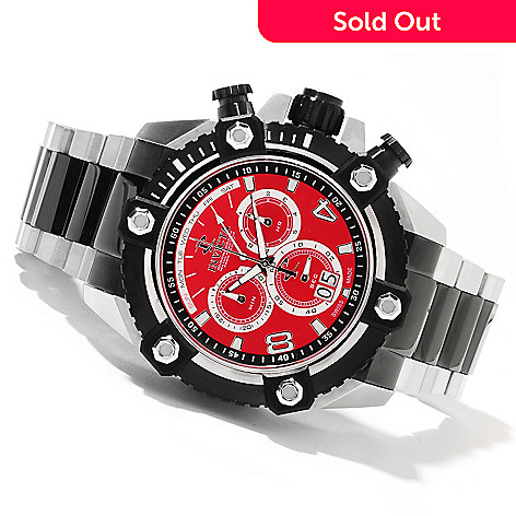 622-046 - Invicta Reserve 63mm Grand Octane Swiss Made Quartz Chronograph Stainless Steel Bracelet Watch