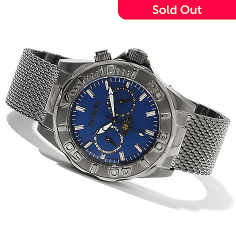 622-047 - Invicta Men's Pro Diver Quartz Stainless Steel Mesh Bracelet Watch