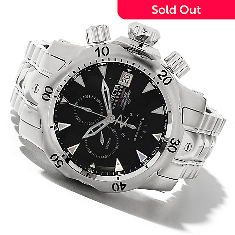 622-060 - Invicta Reserve Men's Venom Limited Edition A07 Automatic Chronograph Stainless Steel Bracelet Watch