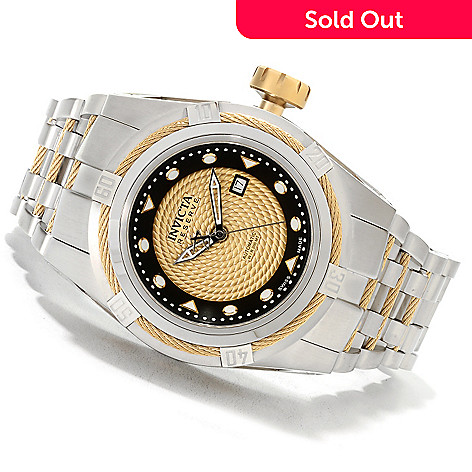 622-061 - Invicta Reserve 52mm Bolt Zeus Swiss Made Automatic Stainless Steel Bracelet Watch
