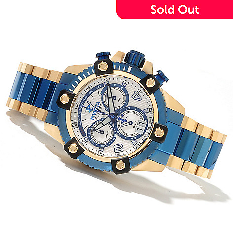 622-068 - Invicta Reserve 48mm Swiss Made Quartz Chronograph Stainless Steel Bracelet Watch