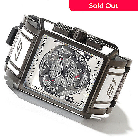 622-070 - Invicta Men's S1 Touring Edition Swiss Made Quartz Chronograph Strap Watch