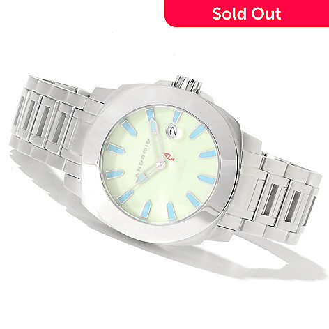 622-086 - Android Men's Parma Automatic Stainless Steel Bracelet Watch