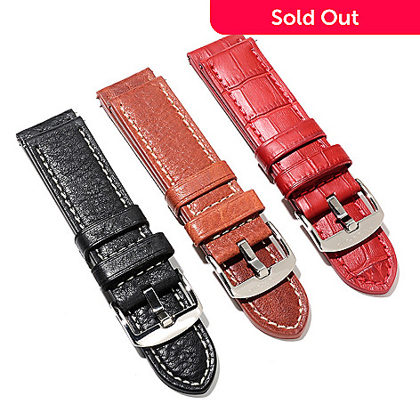 622-093 - Android Set of Three 24mm Leather Straps