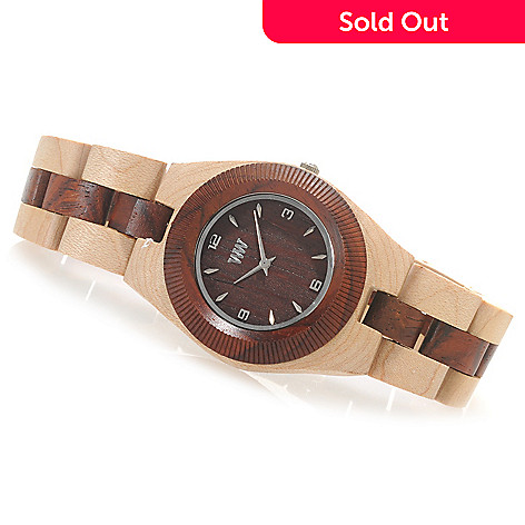 622-202 - WeWOOD Women's ''Odyssey'' Quartz Wooden Bracelet Watch