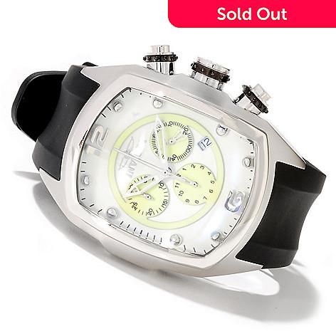 622-258 - Invicta Men's Lupah Revolution Quartz Chronograph Lume Dial Polyurethane Strap Watch