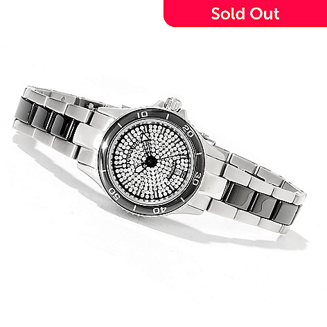 622-270 - Stührling Original Women's Astera Swiss Quartz Bracelet Watch Made w/ Swarovski® Elements