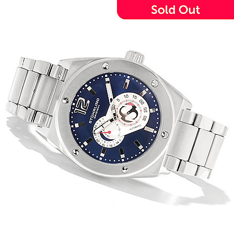 622-271 - Stührling Original Men's Leisure Gen-X Esprit Automatic Bracelet Watch