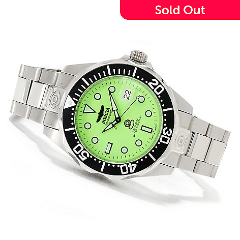 622-298 - Invicta Men's Grand Diver Automatic Lume Stainless Steel Bracelet Watch