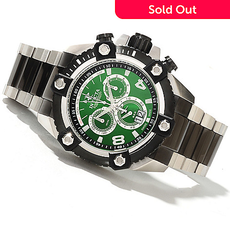 622-304 - Invicta Reserve 63mm Grand Octane Swiss Made Quartz Chronograph Stainless Steel Bracelet Watch