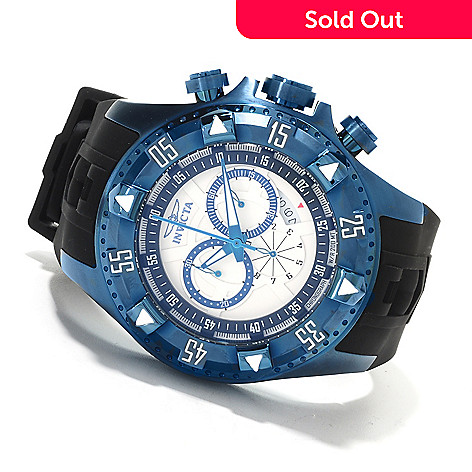 622-332 - Invicta Men's Excursion Sport Quartz Chronograph Stainless Steel Silicone Strap Watch