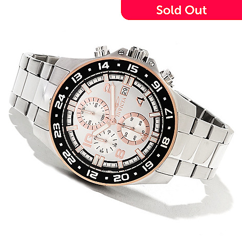 622-405 - Invicta Men's Pro Diver Specialty Quartz Chronograph Stainless Steel Bracelet Watch