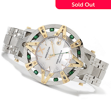 622-425 - XO Skeleton Men's Superlative Star Limited Edition Automatic Stainless Steel Bracelet Watch