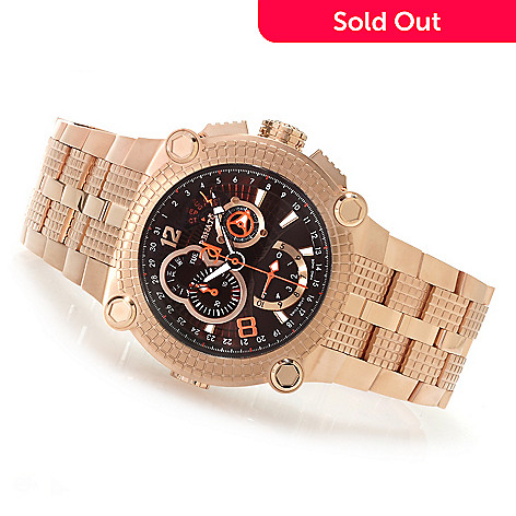 622-440 -  Renato Men's Vulcan Swiss Limited Edition Quartz Chronograph Bracelet Watch