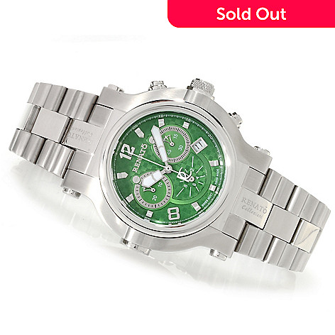 622-441 - Renato Men's Beast Limited Edition Swiss Quartz Chronograph Bracelet Watch