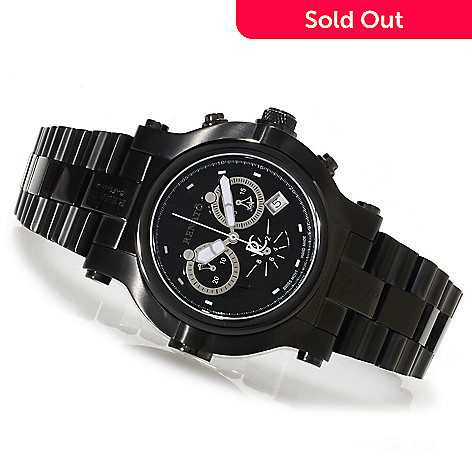 622-446 - Renato 46mm Beast Limited Edition Swiss Made Quartz Chronograph Bracelet Watch