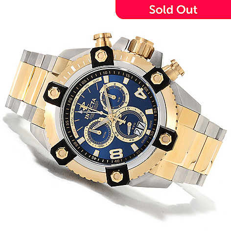 622-472 - Invicta Reserve 56mm Swiss Made Quartz Chronograph Stainless Steel Bracelet Watch