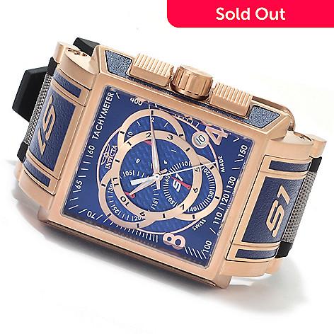 622-474 - Invicta Men's S1 Touring Edition Swiss Made Quartz Chronograph Polyurethane & Nylon Strap Watch