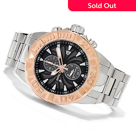 622-480 - Invicta Men's Pro Diver Spider Quartz Chronograph Stainless Steel Bracelet Watch
