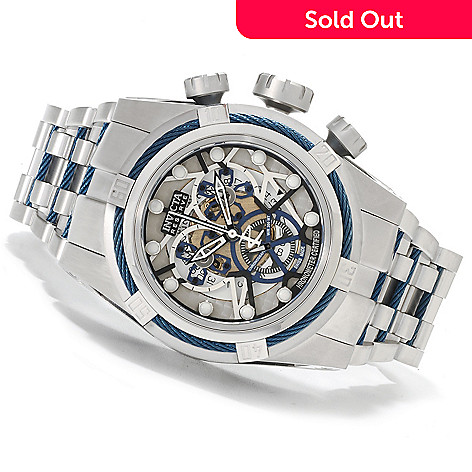 622-487 - Invicta Reserve Men's Bolt Zeus Swiss Made COSC Quartz Chronograph Stainless Steel Bracelet Watch
