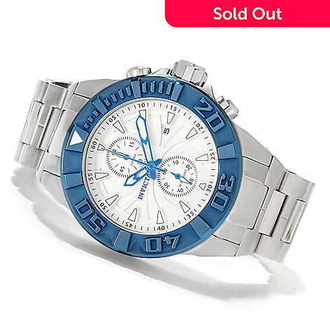 622-491 - Invicta Men's Pro Diver Spider Quartz Chronograph Stainless Steel Bracelet Watch